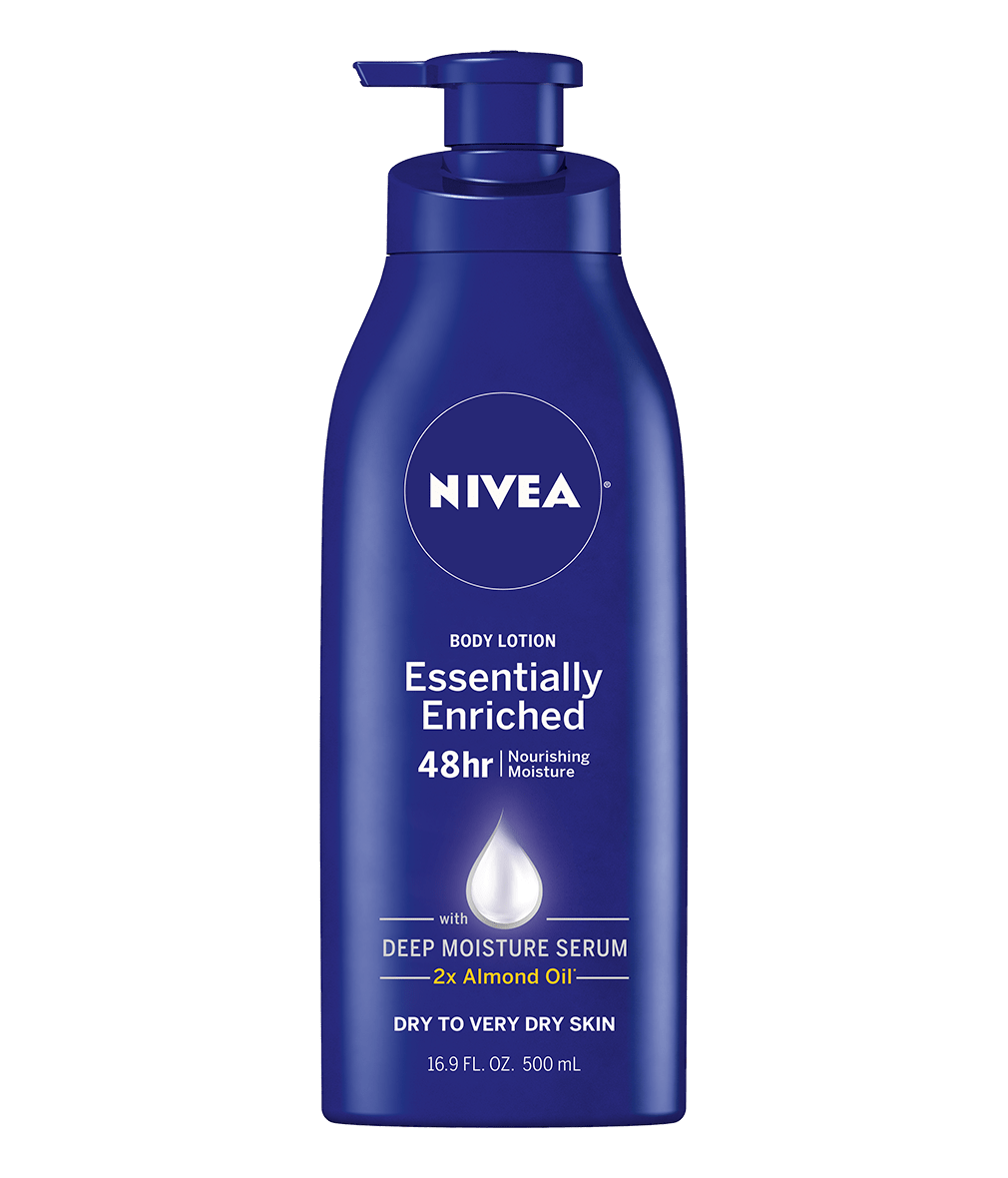 essentially enriched body lotion for dry to very dry skin nivea